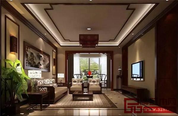 红木客厅搭配款式全集,也就土豪可以如此任性了