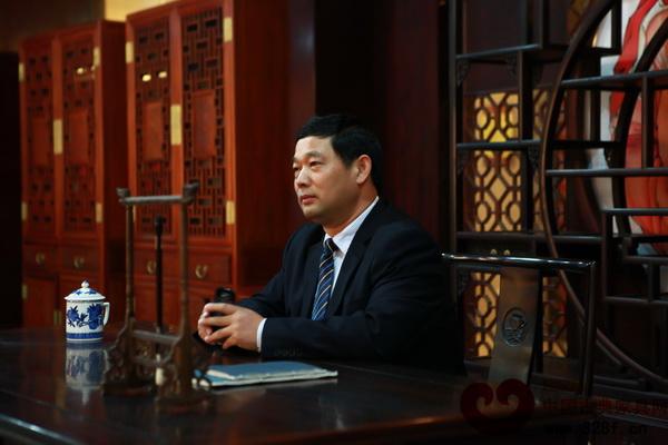 东阳红木家具市场总经理刘春林
