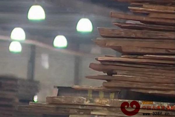 东成红木引以为豪的干燥中心(视频)
