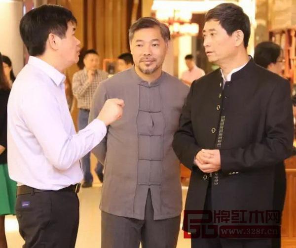 中国家具协会理事长朱长岭莅临中山大涌视察