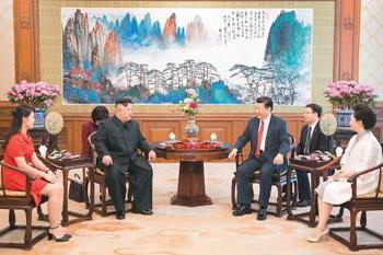一周红木天下事:中朝两国会晤,红木家具再次引世界关注