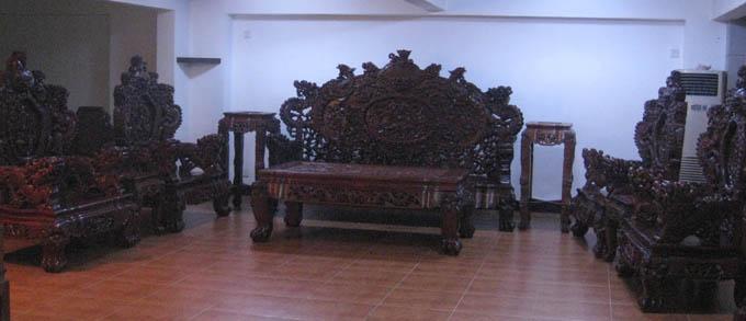 酸枝福禄寿沙发,红木家具-中山大涌明丰家具