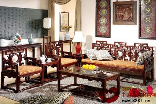 客厅红木家具摆放技巧