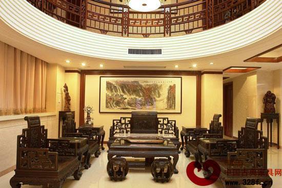 中式宫廷般华丽 中式风格装修效果图图片