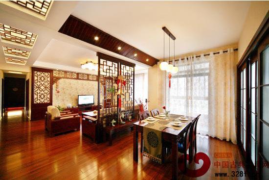 4款经典中式设计塑造清雅古风的餐厅-品牌红木网