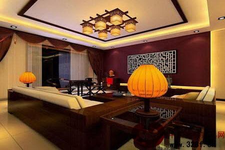 现代中式风格家居 古色古香韵味-中国古典家具网