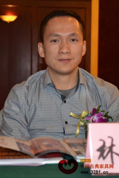 林智锋(品牌红木家具经销商联盟执行主席、郑州雍廷红木董事长)