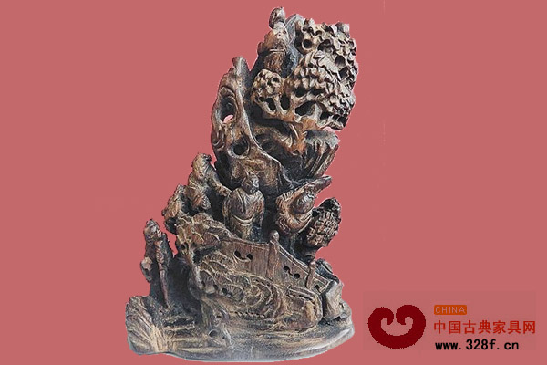 藏家收藏的晚清木雕摆件赏析