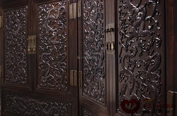 中国人对红木家具中龙的纹饰