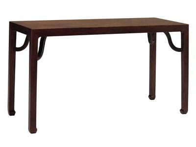 张辉:明式家具中三种广义的四面平条桌