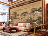 中式家装 以画构景