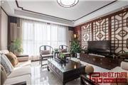 140平中式风格装修案例,一个客厅都美爆了!