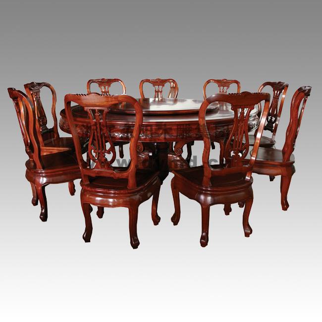 桌(东阳木雕集团),红木家具-浙江东阳;