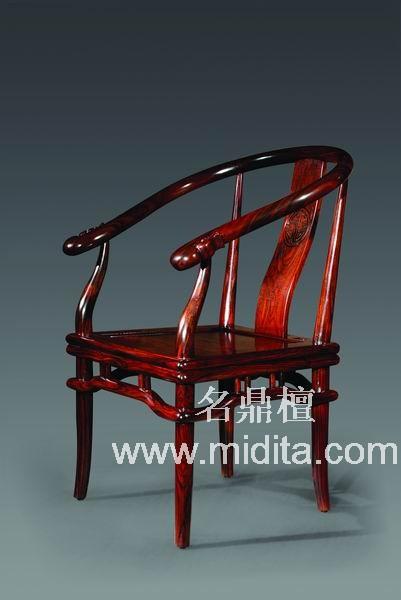 红木家具-书房系列-大智若愚书椅