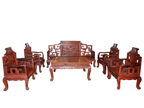 红木沙发八件套