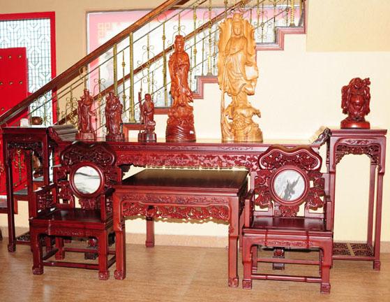 裕丰阁工艺品展厅图67,红木家具-中山裕丰古典家具店
