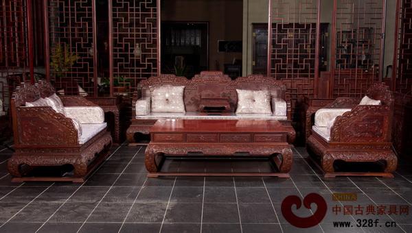 東清阁——荷花宝座沙发