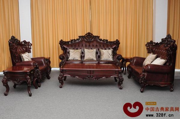 欧式红木家具的中式之风