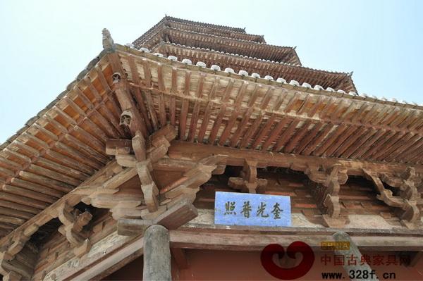 采用榫卯结构建造的山西应县木塔