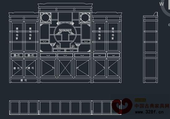 新美红木定制家具设计图纸