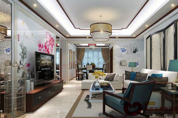 中式客厅装饰效果图