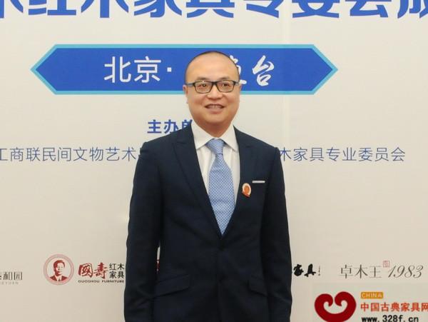 东阳卓木王红木总经理杜长江