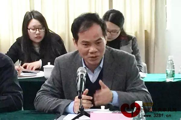 大涌镇党委书记黄红全做总结发言