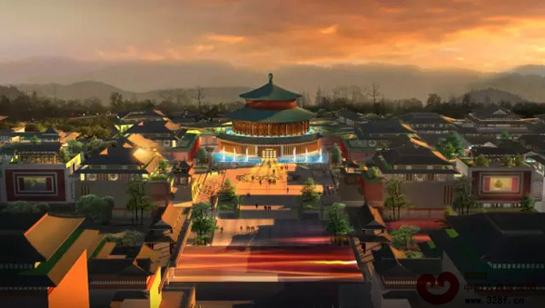 红博城外观概念图