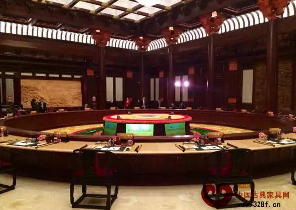 APEC会议上的红木家具彰显深厚中国传统文化底蕴