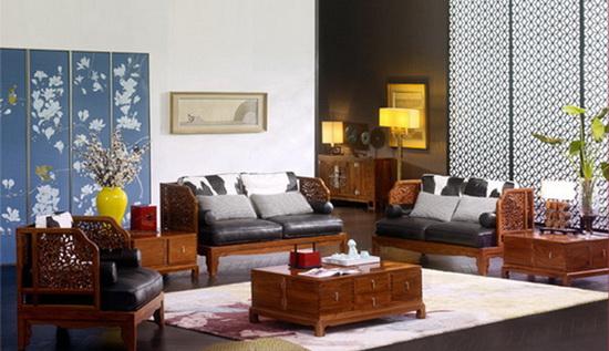 刺猬紫檀成不少新中式家具的主力用材
