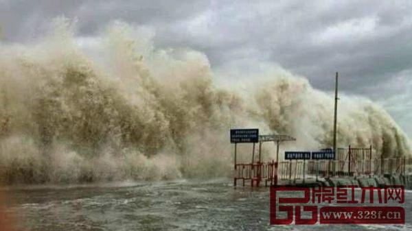 台风袭击,将带来长时间狂风暴雨(资料图)