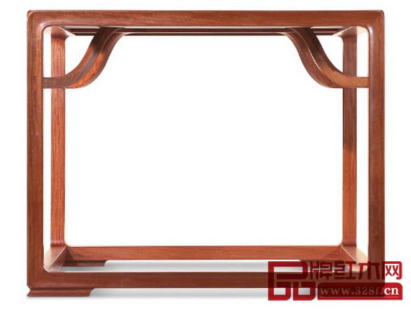 红木花纹相框素材