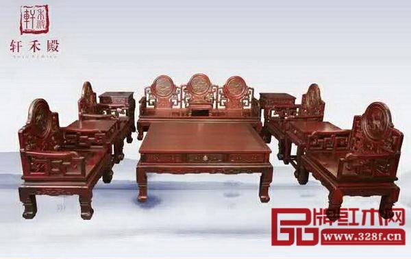 """""""受市场欢迎的中山红木家具十大精品""""评选名单出炉"""