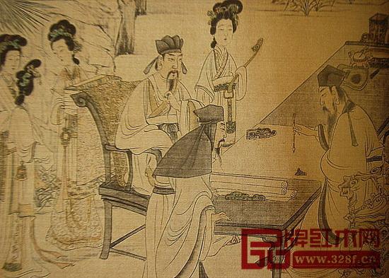 历代文人雅士将书斋当做心中净土,常常相约三五知己好友谈古论今,共叙情谊