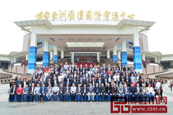 第六届中国红木家具品牌大会嘉宾合影