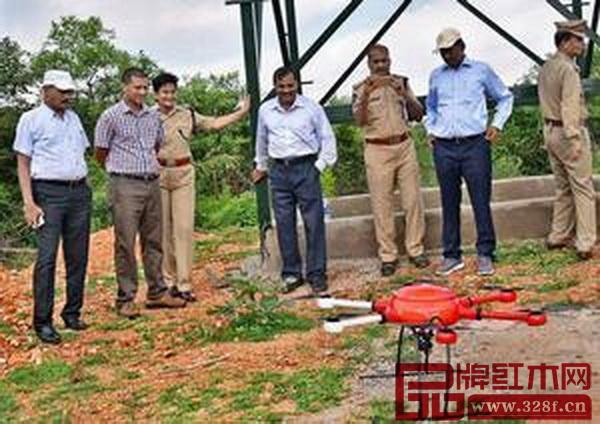 印度为了打击木材走私,决定动用无人机