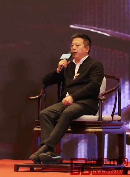 东阳市红木家具行业协会常务副会长、明堂红木总经理张向荣