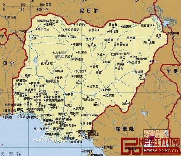 尼日利亚是刺猬紫檀重要产材国