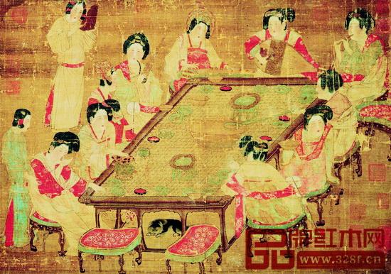 唐《唐人宫乐图》