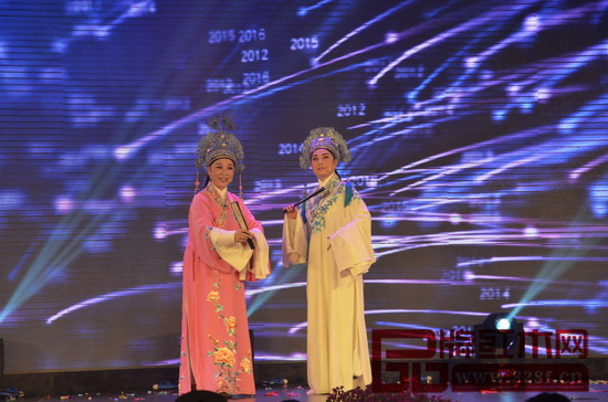 著名粤剧表演艺术家汤丽芳和贾小萍共同演绎《梁祝·十八相送》