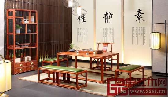 國壽·世外桃源新明式紅木家具——《明軒茶室系列》