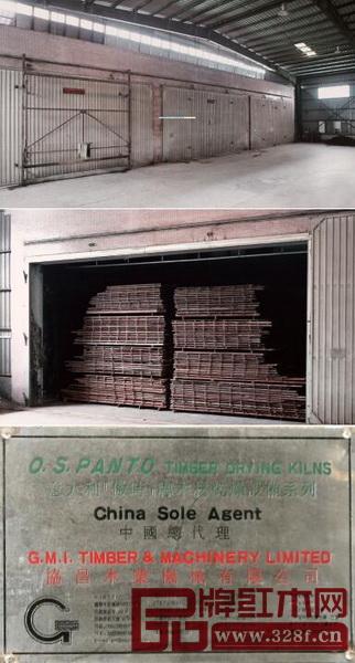 国寿红木采用了中国规模最大的意大利全进口红木干燥设备,可通过精准电脑数控达到将木材干燥到最理想含水率要求