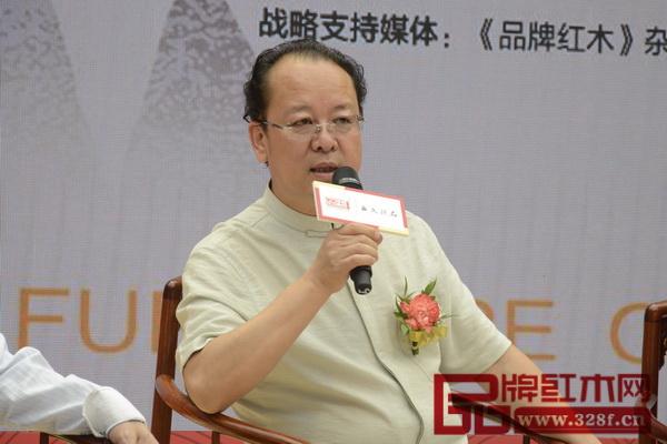 中国家具协会传统家具专业委员会主席团主席杨波