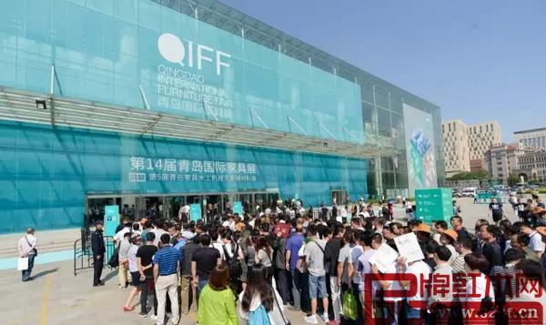 本届青岛展首日入场人数超过七万