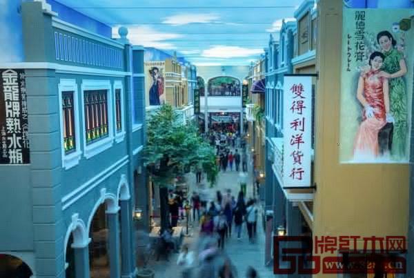 红博城岭南文化骑楼街