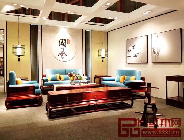 """喜获新意思设计""""金钻奖""""的地天泰·国风《朗风沙发》"""