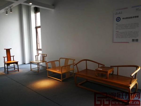 中山职业技术学院・院长椅、木棉禅椅