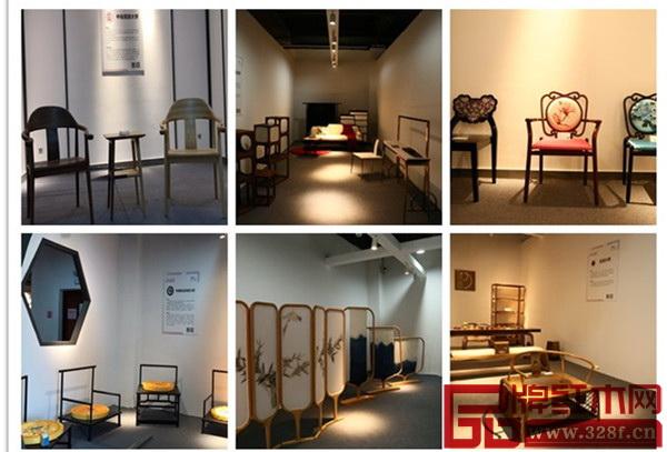 """""""新意思""""新中式红木家具设计展部分作品"""