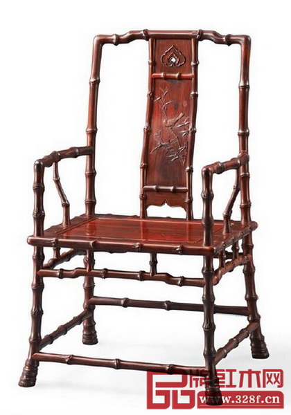 """泰和园""""当代君子""""竹节椅"""