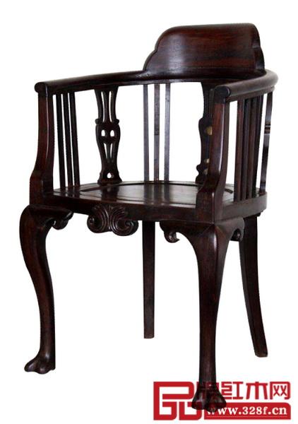 海派红木扶手椅